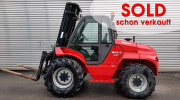 Manitou M50-4 with sideshift and free lift